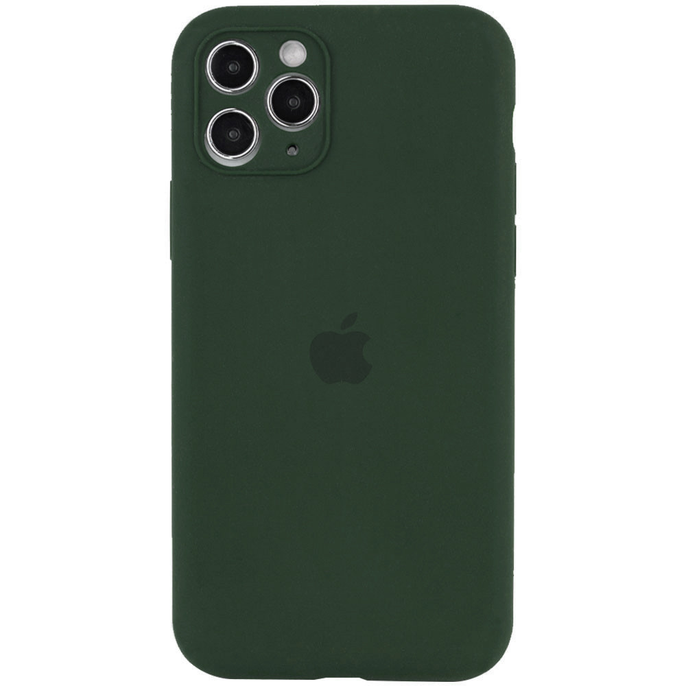 Чехол Silicone Case Full Camera Protective (AA) для Apple iPhone 12 (6.1