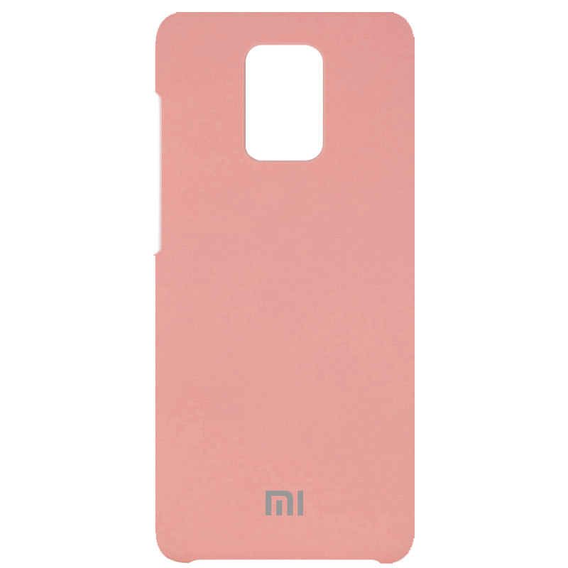 Чехол Silicone Cover (AAA) для Xiaomi Redmi Note 9s / Note 9 Pro / Note 9 Pro Max (Розовый / Pink)