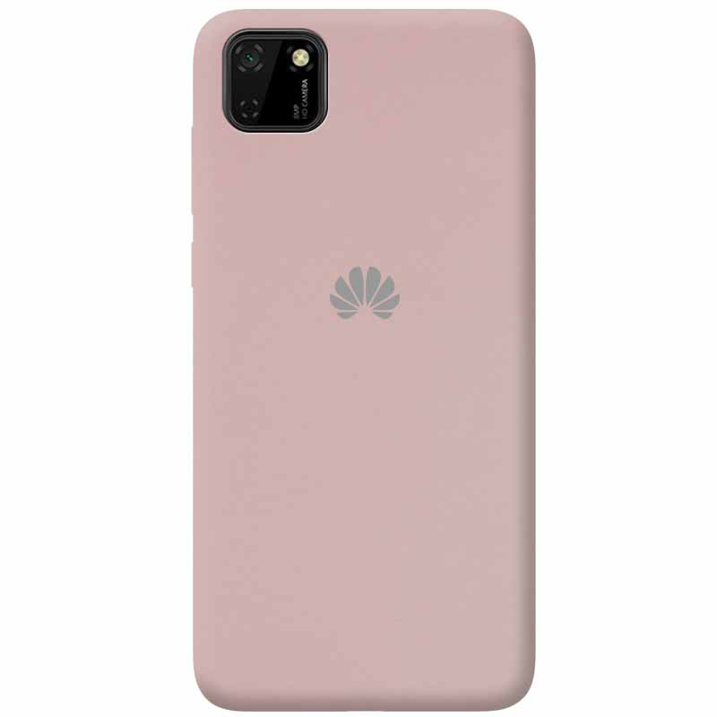 Чехол Silicone Cover Full Protective (AA) для Huawei Y5p (Розовый / Pink Sand)