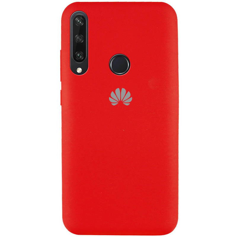 Чехол Silicone Cover Full Protective (AA) для Huawei Y6p (Красный / Red)