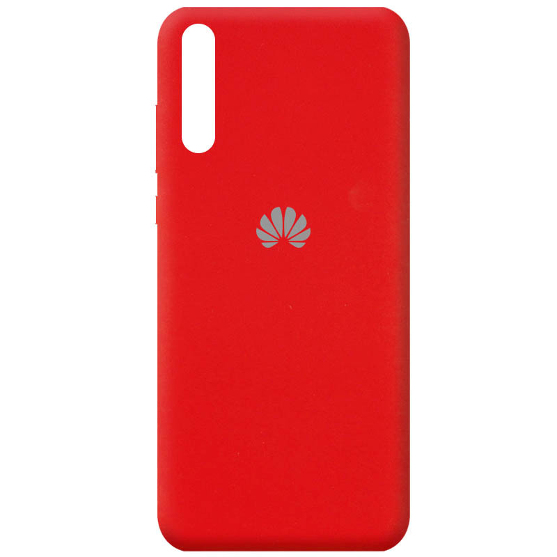 Чехол Silicone Cover Full Protective (AA) для Huawei Y8p (2020) / P Smart S (Красный / Red)