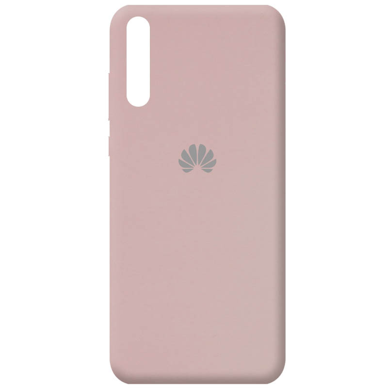 Чехол Silicone Cover Full Protective (AA) для Huawei Y8p (2020) / P Smart S (Розовый / Pink Sand)