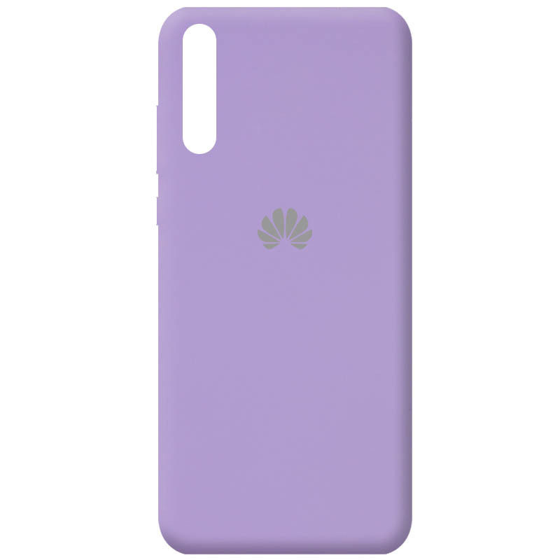 Чехол Silicone Cover Full Protective (AA) для Huawei Y8p (2020) / P Smart S (Сиреневый / Dasheen)