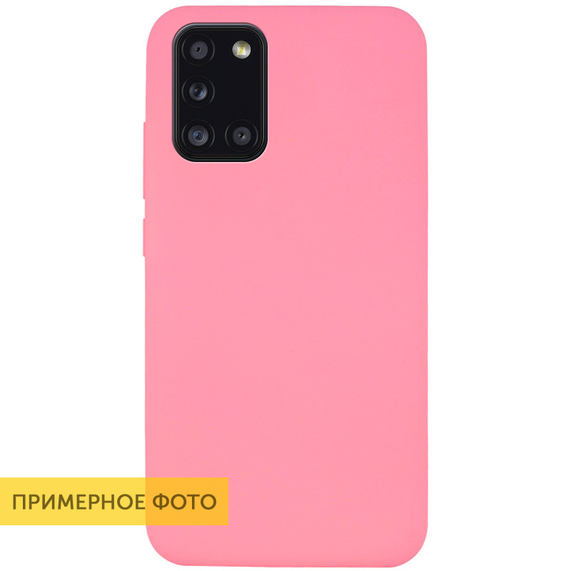 Чехол Silicone Cover Full without Logo (A) для Huawei P40 Lite E / Y7p (2020) (Розовый / Pink)