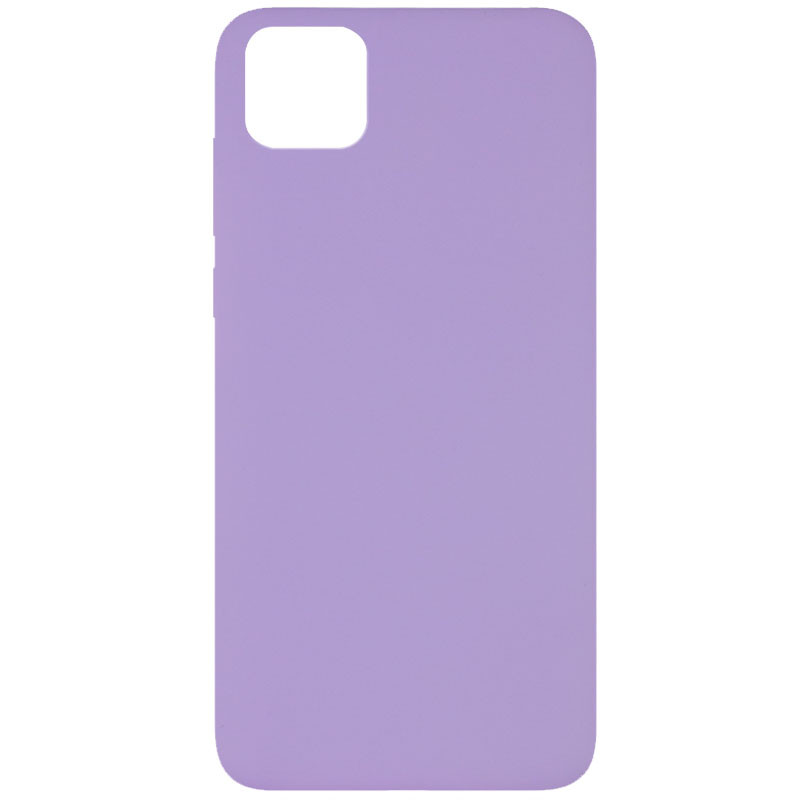 Чехол Silicone Cover Full without Logo (A) для Huawei Y5p (Сиреневый / Dasheen)