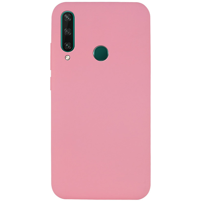 Чехол Silicone Cover Full without Logo (A) для Huawei Y6p (Розовый / Pink)