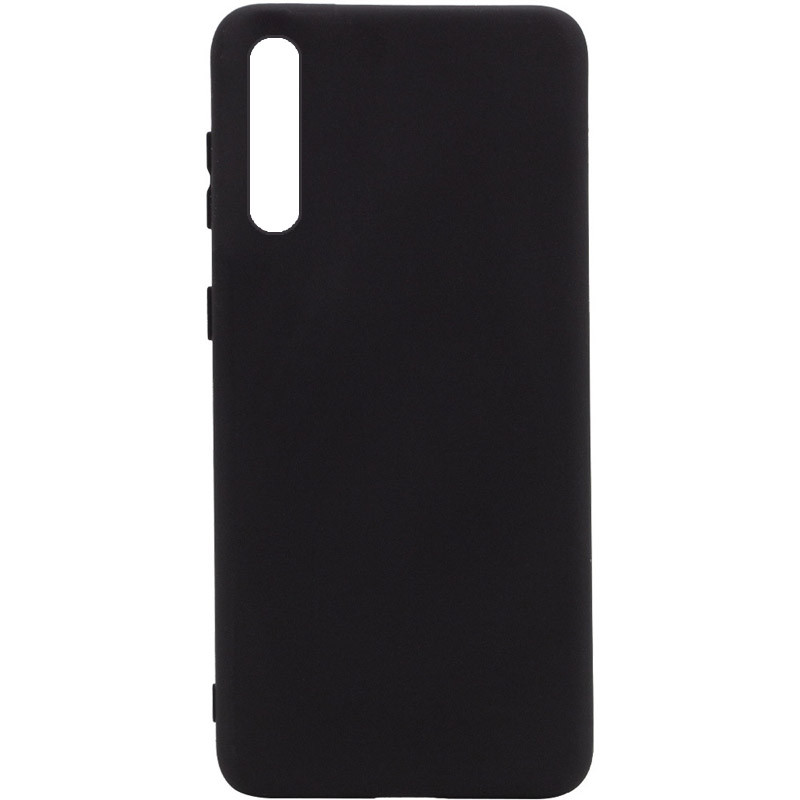 Чехол Silicone Cover Full without Logo (A) для Huawei Y8p (2020) / P Smart S (Черный / Black)