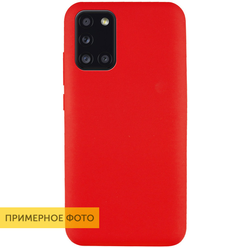 Чехол Silicone Cover Full without Logo (A) для Huawei Y8p (2020) / P Smart S (Красный / Red)