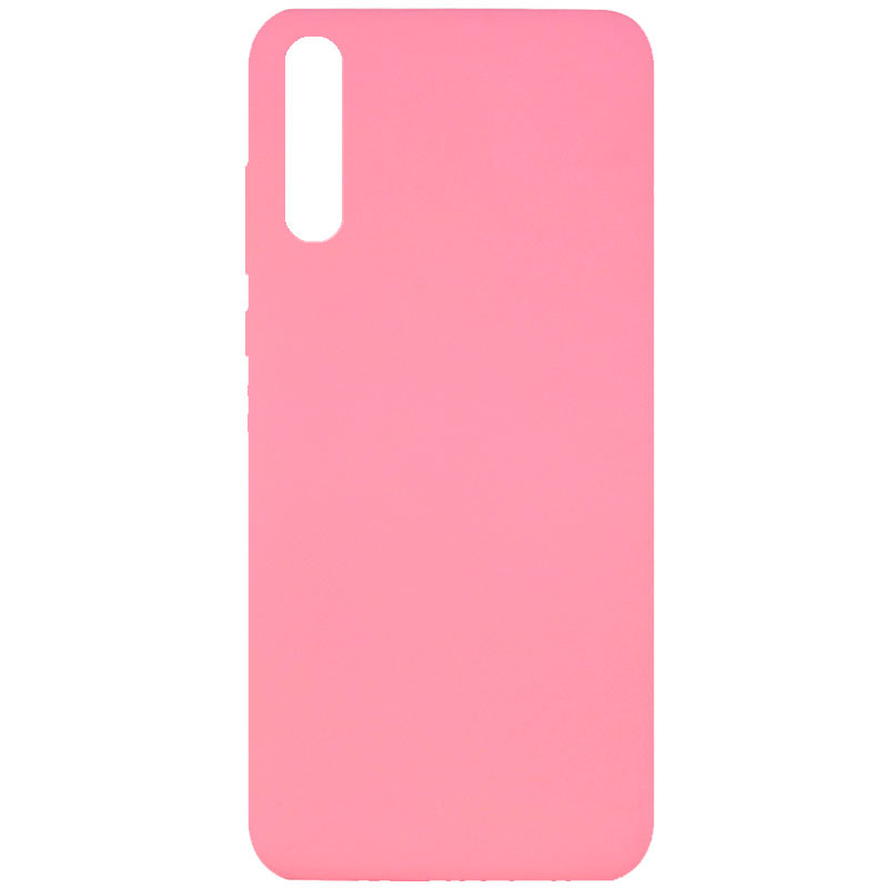 Чехол Silicone Cover Full without Logo (A) для Huawei Y8p (2020) / P Smart S (Розовый / Pink)