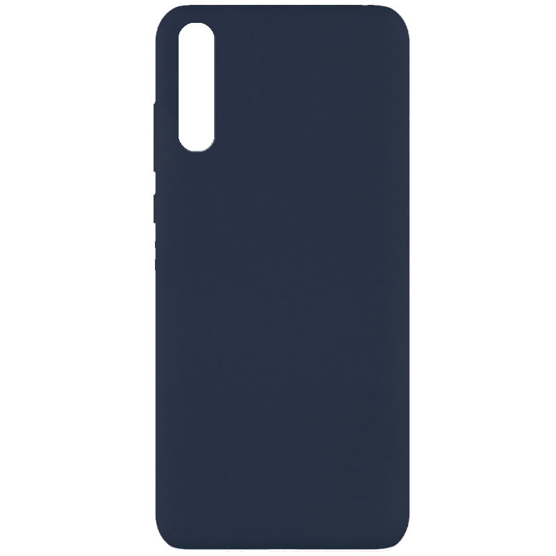 Чехол Silicone Cover Full without Logo (A) для Huawei Y8p (2020) / P Smart S (Синий / Midnight blue)