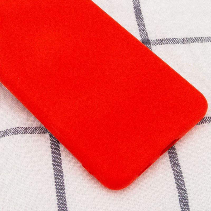 Чехол Silicone Cover Full without Logo (A) для Samsung Galaxy A10s (Красный / Red)