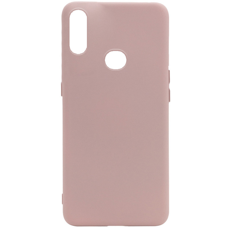 Чехол Silicone Cover Full without Logo (A) для Samsung Galaxy A10s (Розовый / Pink Sand)