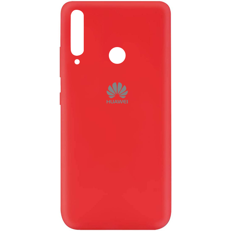 Чехол Silicone Cover My Color Full Protective (A) для Huawei P40 Lite E / Y7p (2020) (Красный / Red)