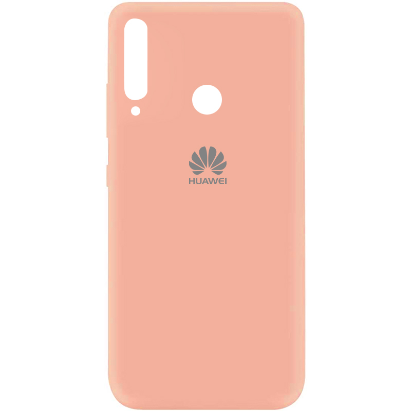 Чехол Silicone Cover My Color Full Protective (A) для Huawei P40 Lite E / Y7p (2020) (Розовый / Flamingo)