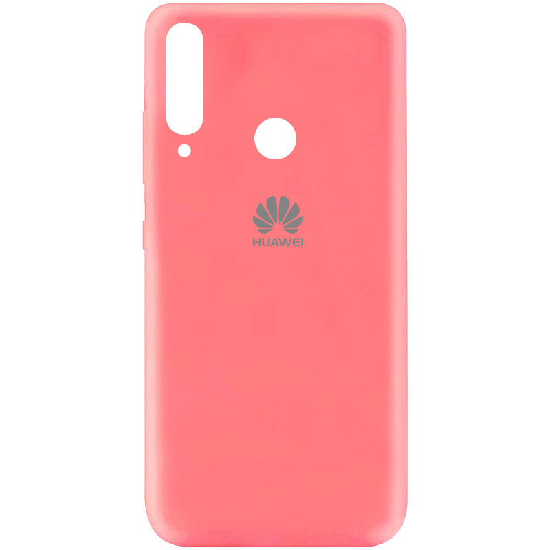 Чехол Silicone Cover My Color Full Protective (A) для Huawei P40 Lite E / Y7p (2020) (Розовый / Peach)