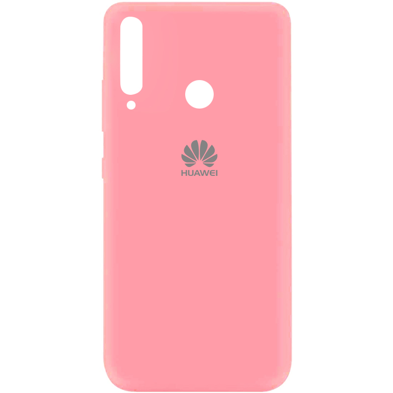 Чехол Silicone Cover My Color Full Protective (A) для Huawei P40 Lite E / Y7p (2020) (Розовый / Pink)