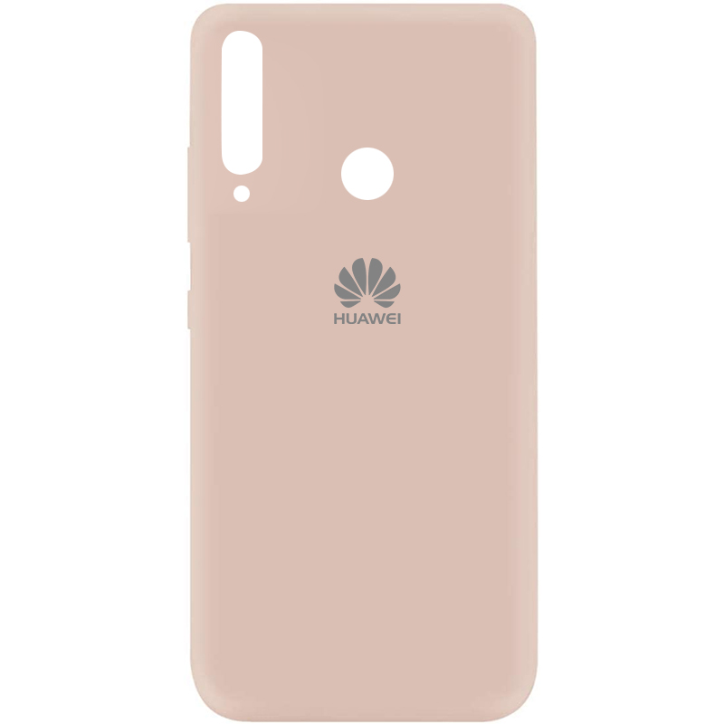 Чехол Silicone Cover My Color Full Protective (A) для Huawei P40 Lite E / Y7p (2020) (Розовый / Pink Sand)