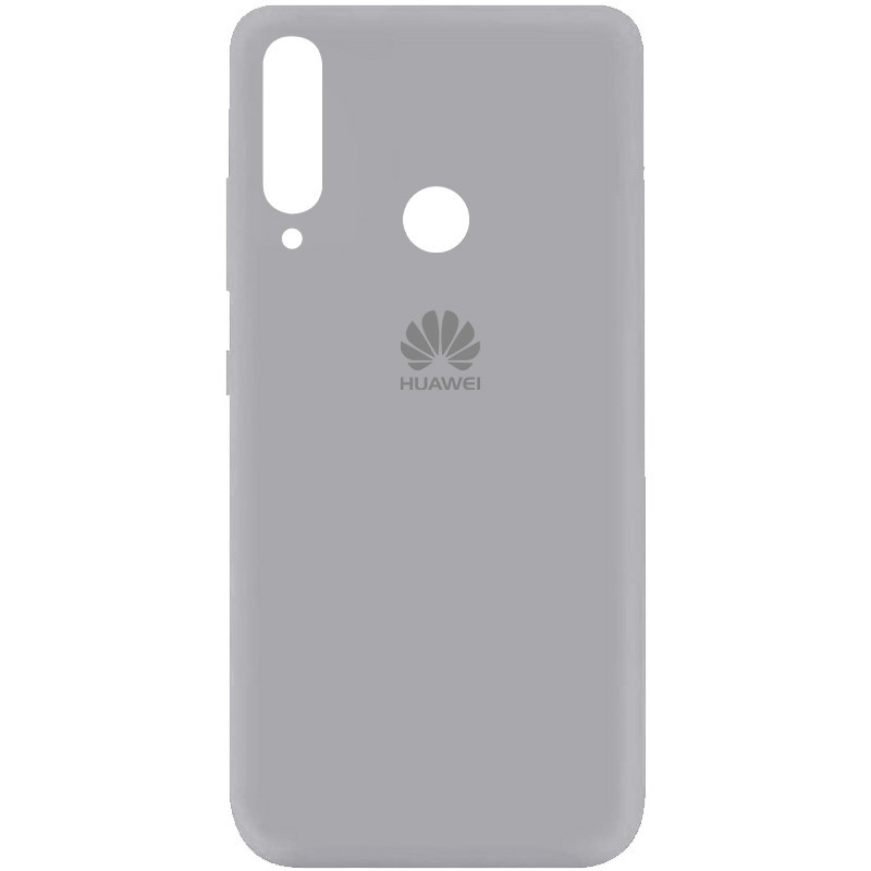 Чехол Silicone Cover My Color Full Protective (A) для Huawei P40 Lite E / Y7p (2020) (Серый / Stone)