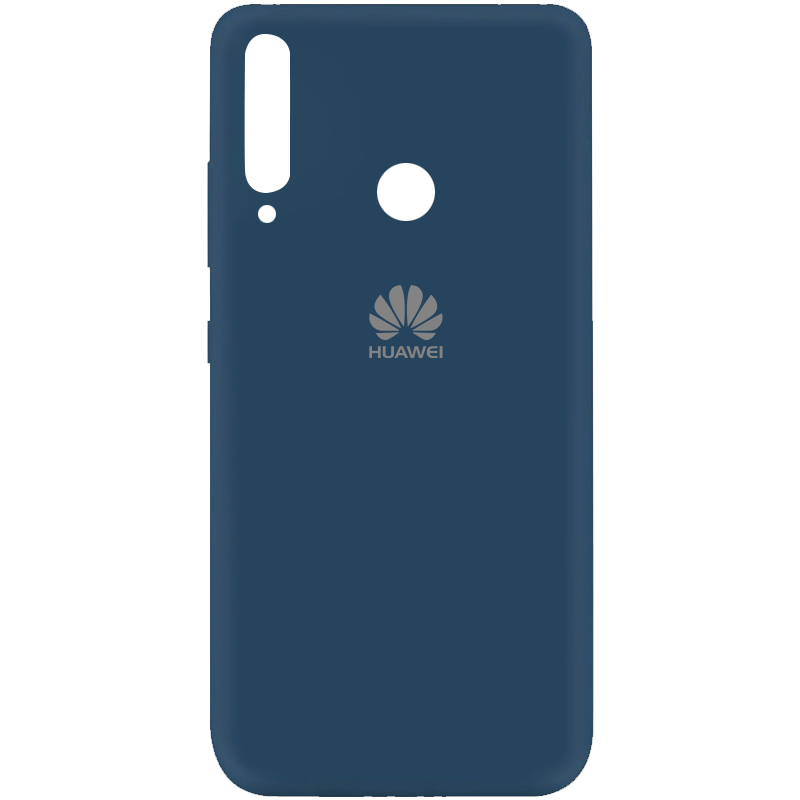 Чехол Silicone Cover My Color Full Protective (A) для Huawei P40 Lite E / Y7p (2020) (Синий / Navy blue)