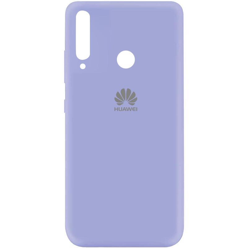 Чехол Silicone Cover My Color Full Protective (A) для Huawei P40 Lite E / Y7p (2020) (Сиреневый / Dasheen)