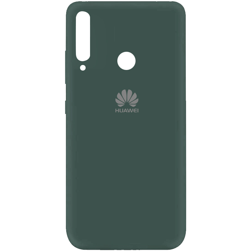 Чехол Silicone Cover My Color Full Protective (A) для Huawei P40 Lite E / Y7p (2020) (Зеленый / Pine green)