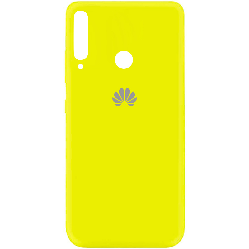 Чехол Silicone Cover My Color Full Protective (A) для Huawei P40 Lite E / Y7p (2020) (Желтый / Flash)