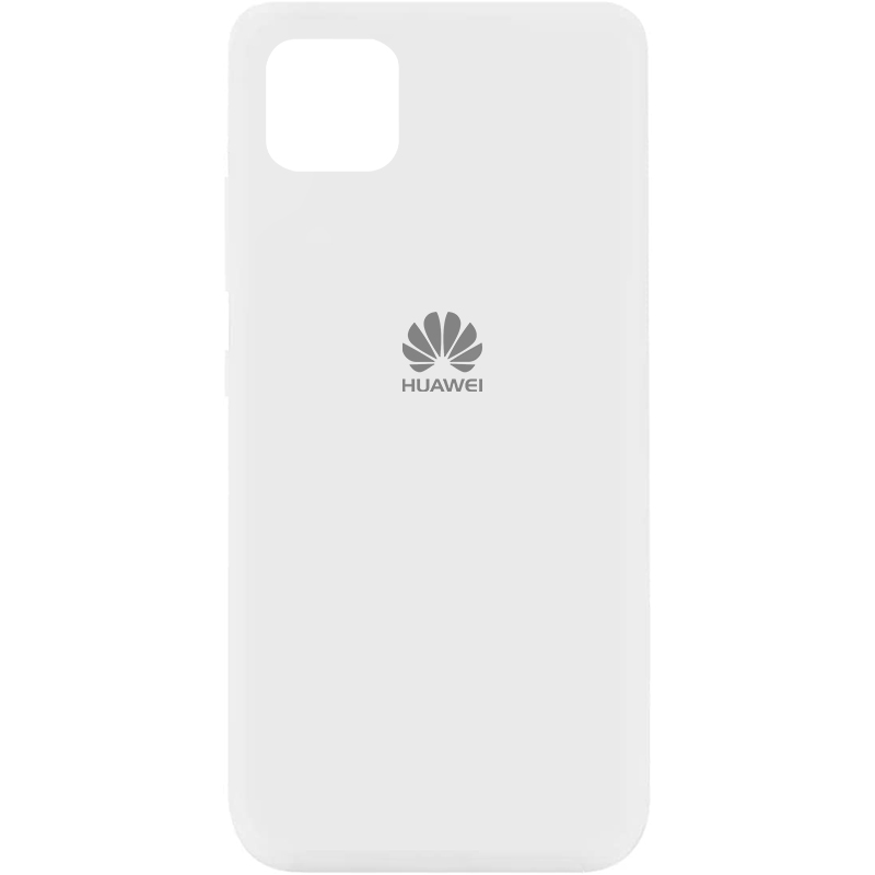 Чехол Silicone Cover My Color Full Protective (A) для Huawei Y5p (Белый / White)
