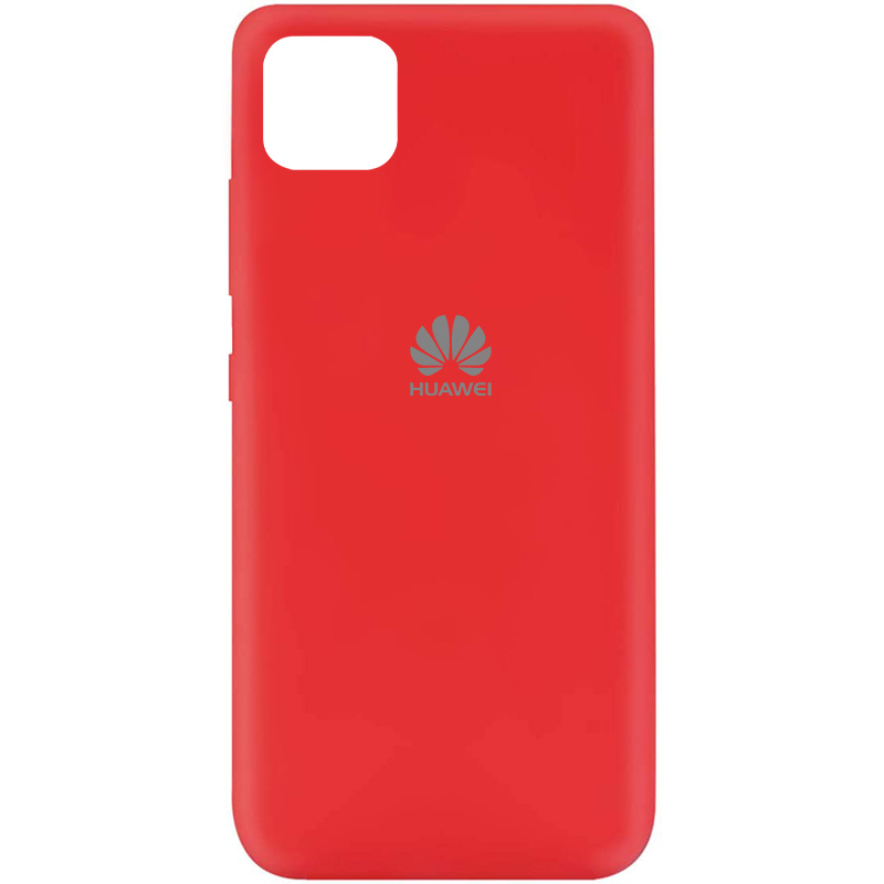 Чехол Silicone Cover My Color Full Protective (A) для Huawei Y5p (Красный / Red)