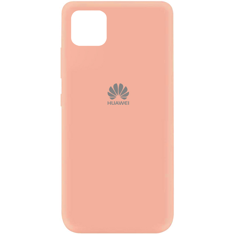 Чехол Silicone Cover My Color Full Protective (A) для Huawei Y5p (Розовый / Flamingo)