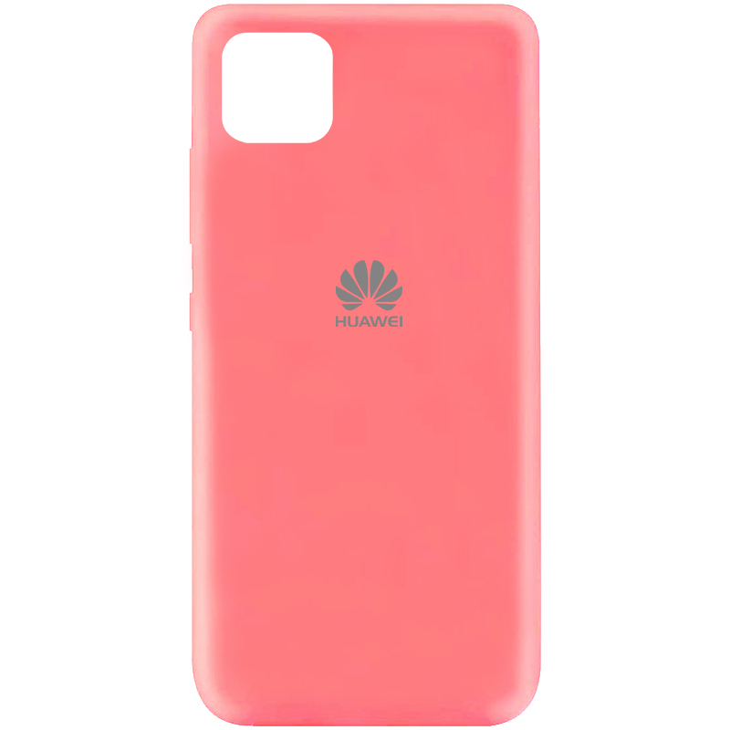 Чехол Silicone Cover My Color Full Protective (A) для Huawei Y5p (Розовый / Peach)