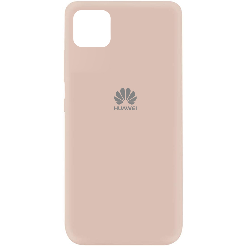 Чехол Silicone Cover My Color Full Protective (A) для Huawei Y5p (Розовый / Pink Sand)