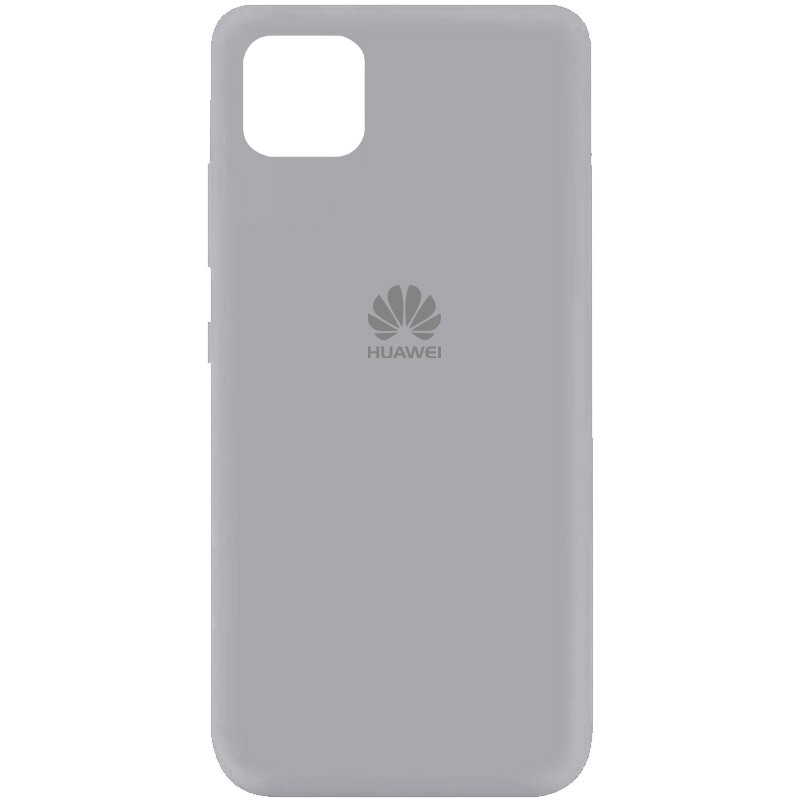 Чехол Silicone Cover My Color Full Protective (A) для Huawei Y5p (Серый / Stone)