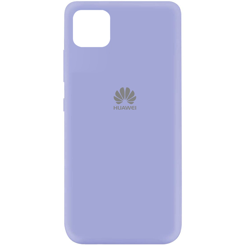 Чехол Silicone Cover My Color Full Protective (A) для Huawei Y5p (Сиреневый / Dasheen)
