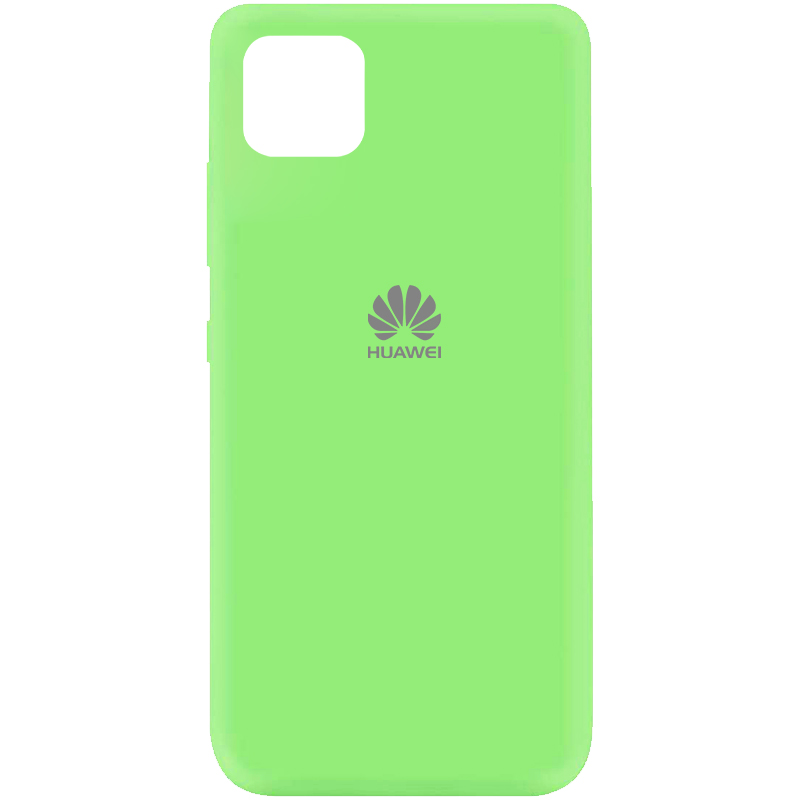 Чехол Silicone Cover My Color Full Protective (A) для Huawei Y5p (Зеленый / Green)