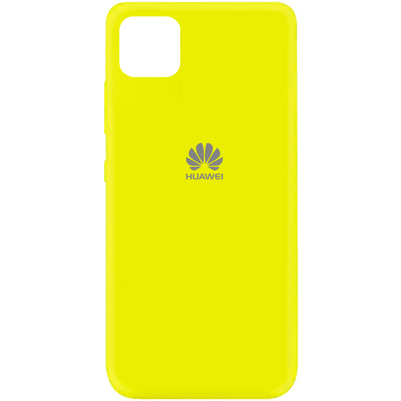 Чехол Silicone Cover My Color Full Protective (A) для Huawei Y5p (Желтый / Flash)