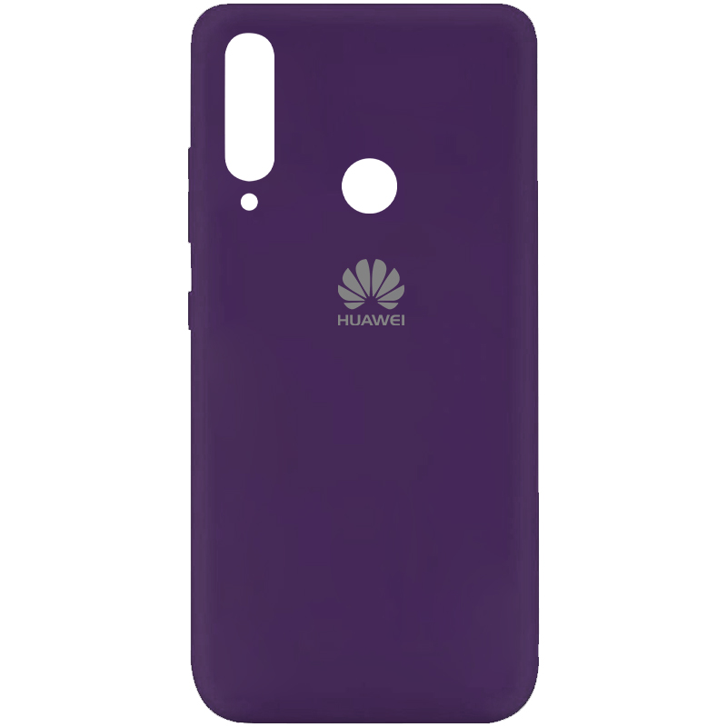Чехол Silicone Cover My Color Full Protective (A) для Huawei Y6p (Фиолетовый / Purple)