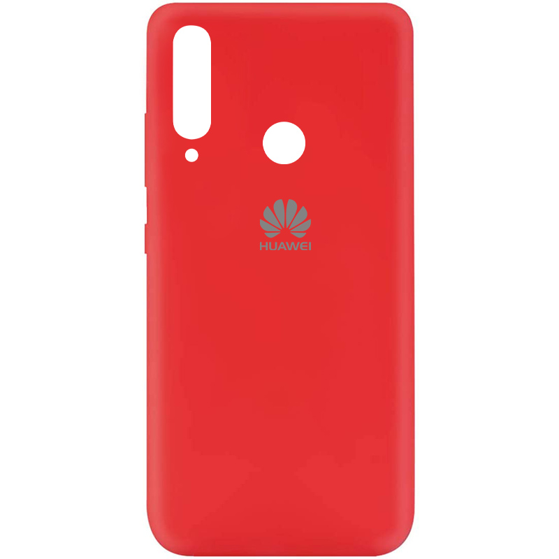 Чехол Silicone Cover My Color Full Protective (A) для Huawei Y6p (Красный / Red)
