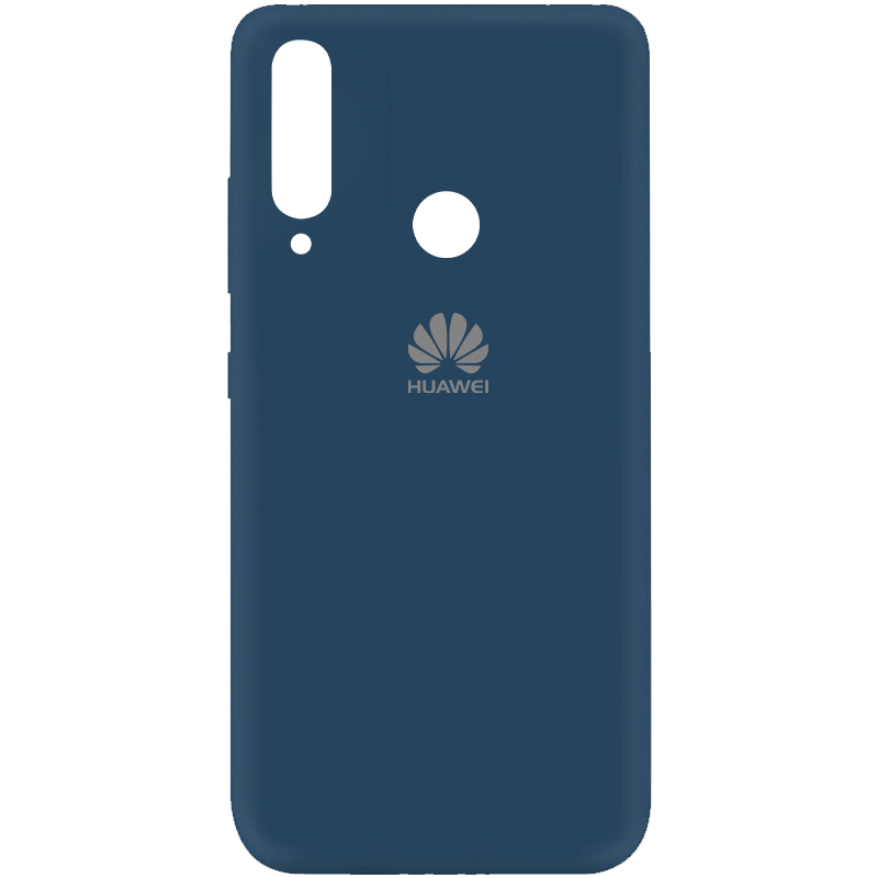 Чехол Silicone Cover My Color Full Protective (A) для Huawei Y6p (Синий / Navy blue)
