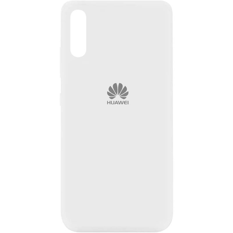 Чехол Silicone Cover My Color Full Protective (A) для Huawei Y8p (2020) / P Smart S (Белый / White)