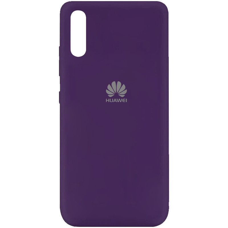 Чехол Silicone Cover My Color Full Protective (A) для Huawei Y8p (2020) / P Smart S (Фиолетовый / Purple)