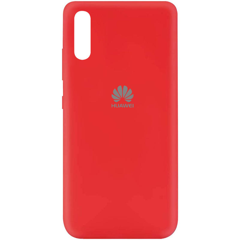 Чехол Silicone Cover My Color Full Protective (A) для Huawei Y8p (2020) / P Smart S (Красный / Red)