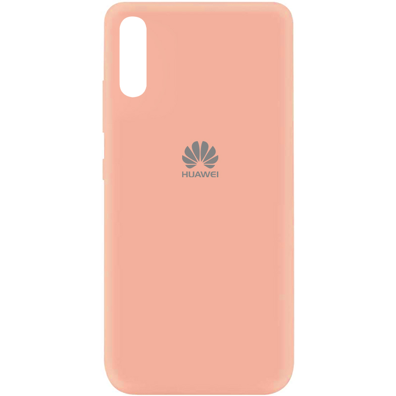 Чехол Silicone Cover My Color Full Protective (A) для Huawei Y8p (2020) / P Smart S (Розовый / Flamingo)