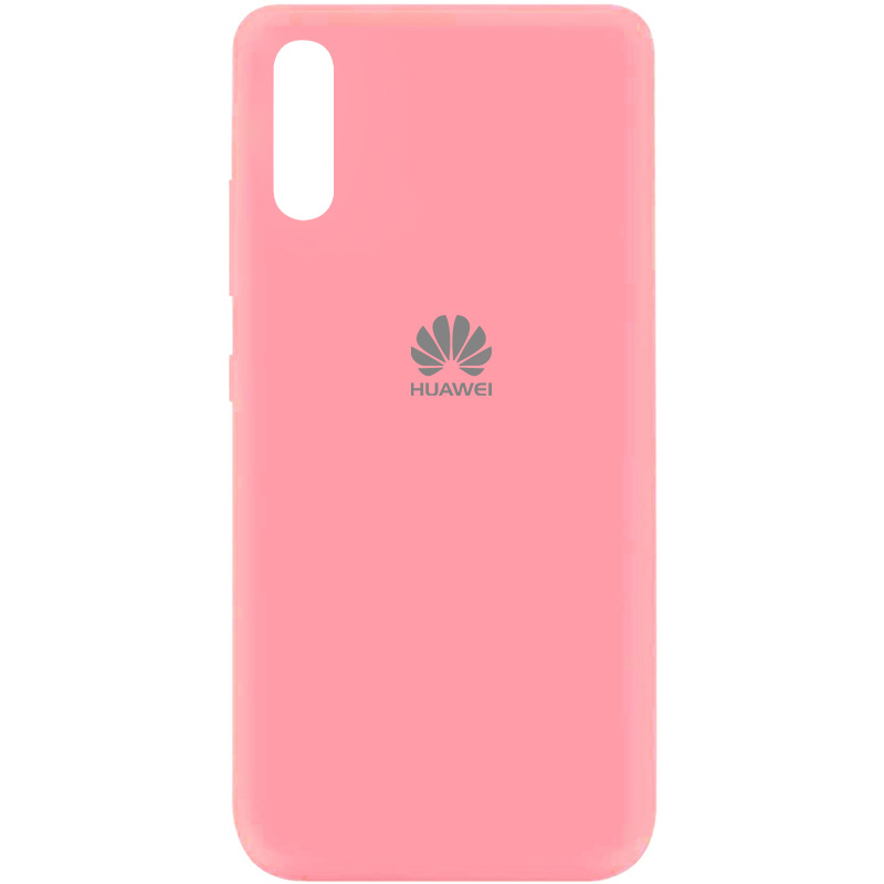 Чехол Silicone Cover My Color Full Protective (A) для Huawei Y8p (2020) / P Smart S (Розовый / Pink)
