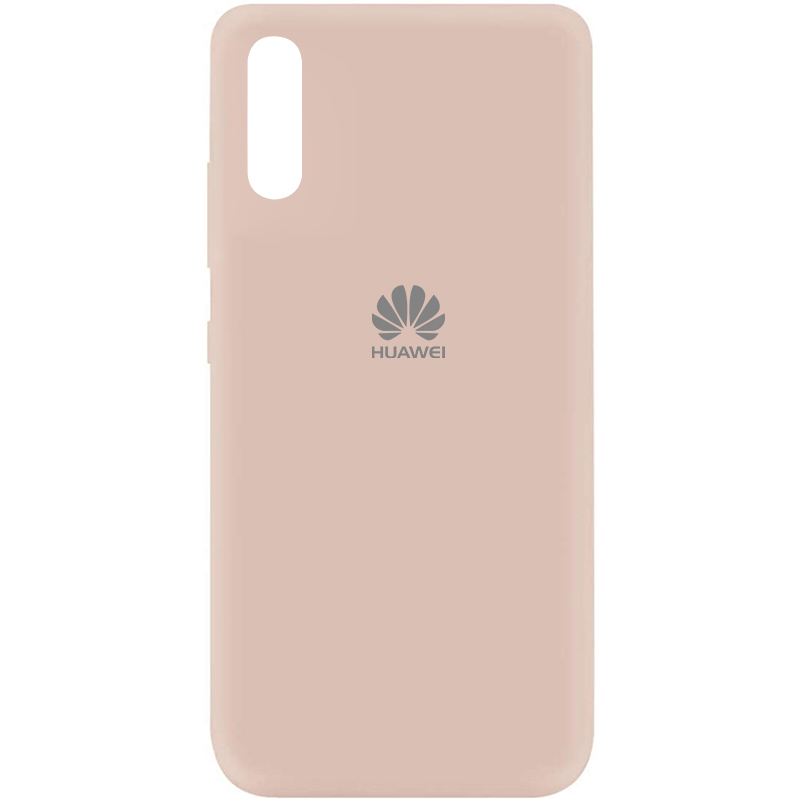 Чехол Silicone Cover My Color Full Protective (A) для Huawei Y8p (2020) / P Smart S (Розовый / Pink Sand)