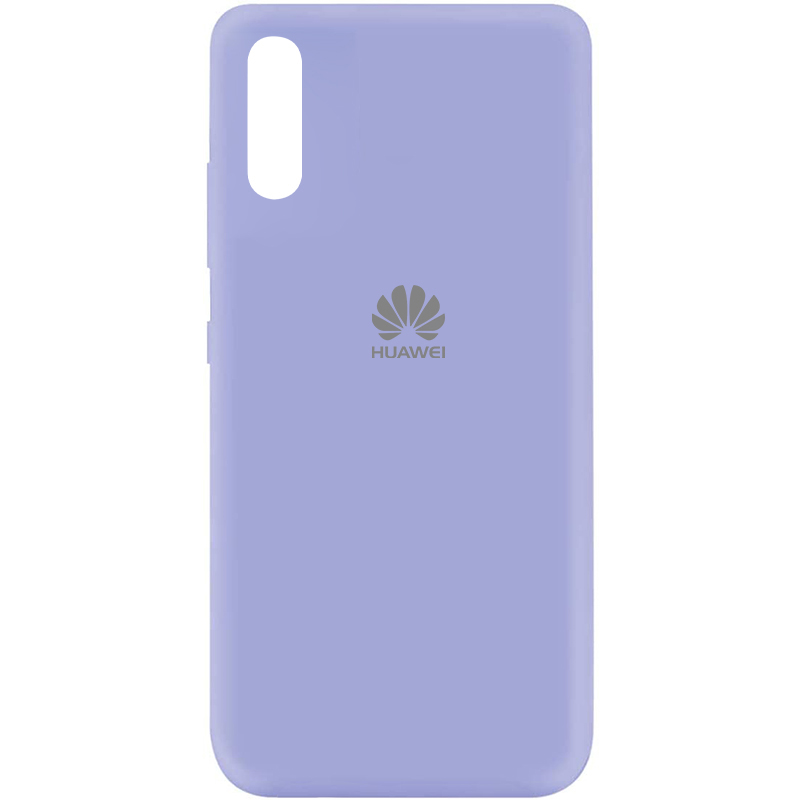 Чехол Silicone Cover My Color Full Protective (A) для Huawei Y8p (2020) / P Smart S (Сиреневый / Dasheen)