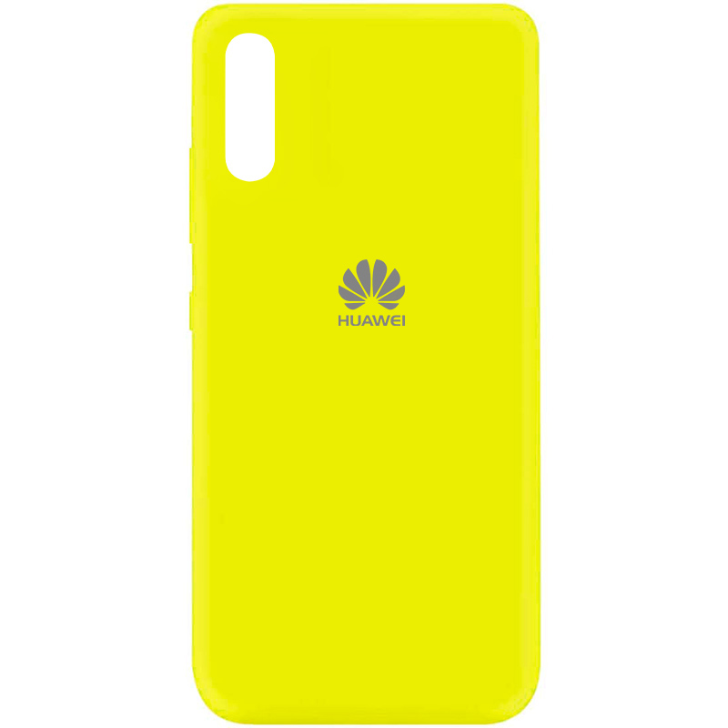 Чехол Silicone Cover My Color Full Protective (A) для Huawei Y8p (2020) / P Smart S (Желтый / Flash)