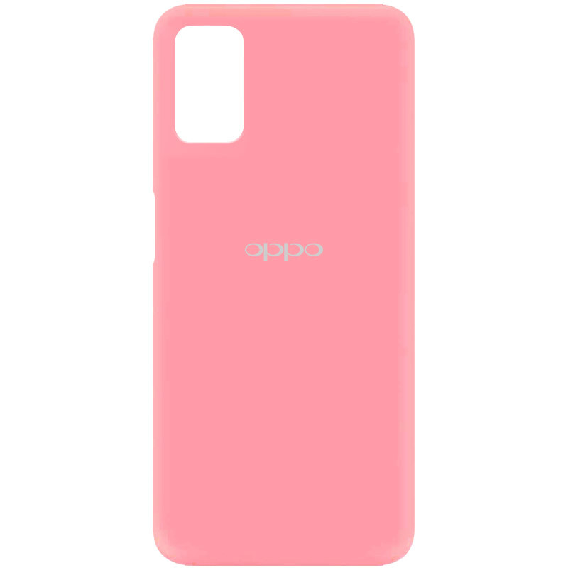 Чехол Silicone Cover My Color Full Protective (A) для Oppo A52 / A72 / A92 (Розовый / Pink)