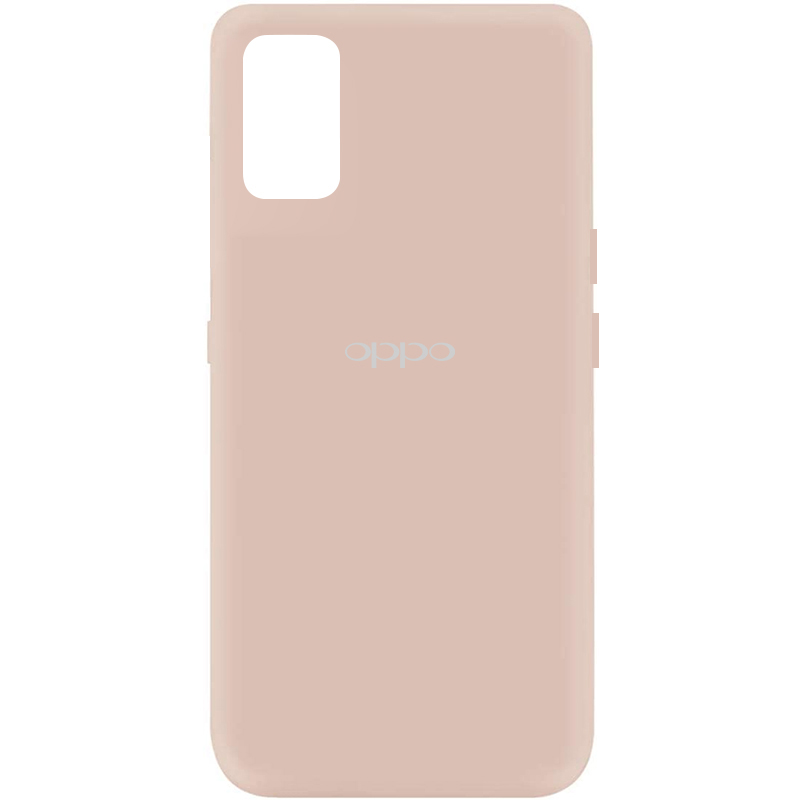 Чехол Silicone Cover My Color Full Protective (A) для Oppo A52 / A72 / A92 (Розовый / Pink Sand)