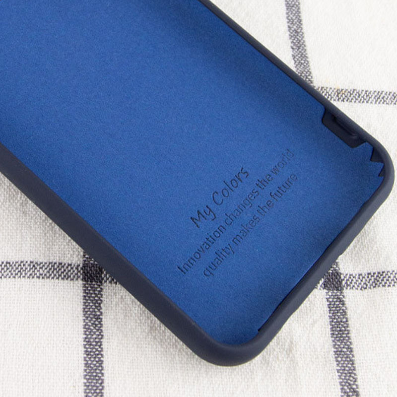Чехол Silicone Cover My Color Full Protective (A) для Oppo A73 (Синий / Midnight blue)
