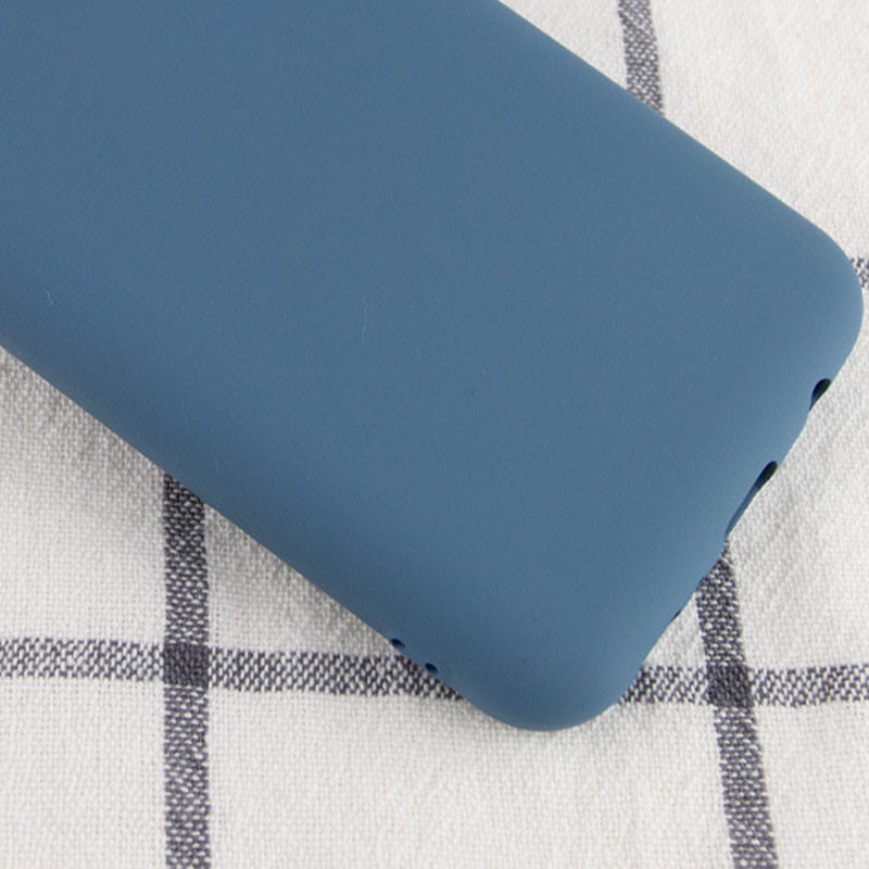 Чехол Silicone Cover My Color Full Protective (A) для Oppo A73 (Синий / Navy blue)